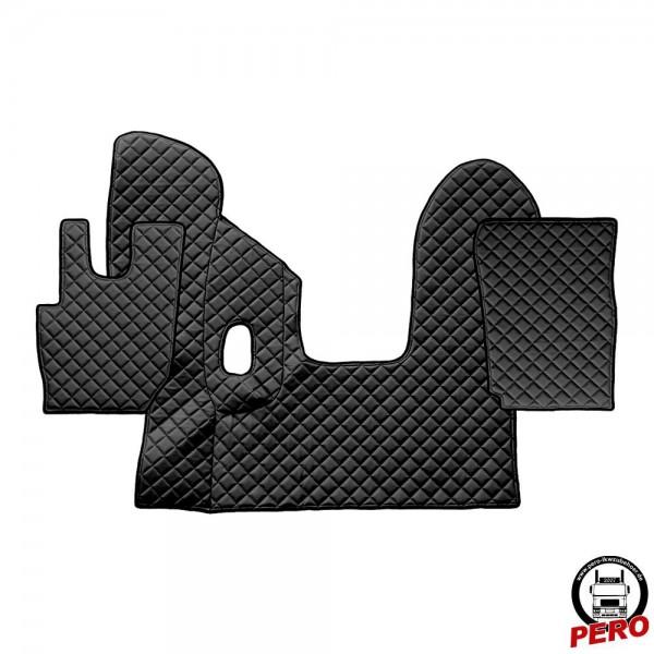 Kunstleder Fußmatten, Komplettset -Economy Line- passend für DAF CF E6 *Manuell*