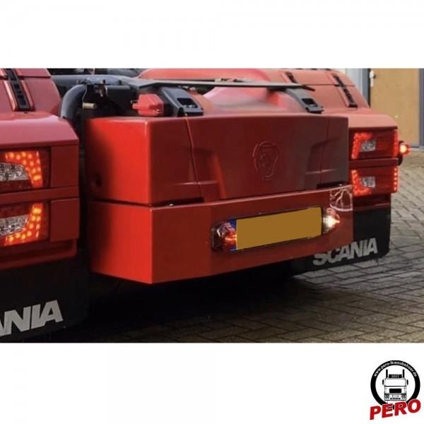 Batteriekasten-Ansatz, Verlängerung aus Alu passend für Scania R & S