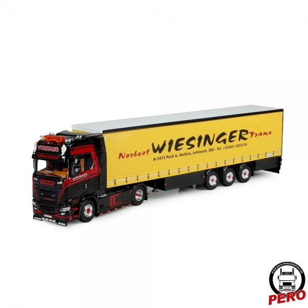 Tekno Scania CS 580 Gardinenplanen-Sattelzug Norbert Wiesinger Trans (A)