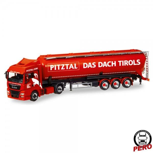 Herpa MAN TGX XLX E6 Silo-Sattelzug Melmer / Pitztal - Das Dach Tirols