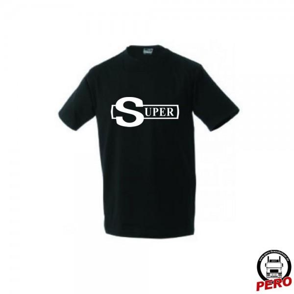 T-Shirt schwarz Super Emblem alt