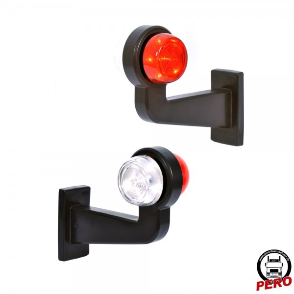 LED Umrissleuchte, Pendelleuchte lang 90° links Scandi-Design