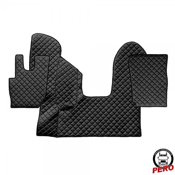 Kunstleder Fußmatten, Komplettset -Economy Line- passend für DAF CF E6 *Automatik*