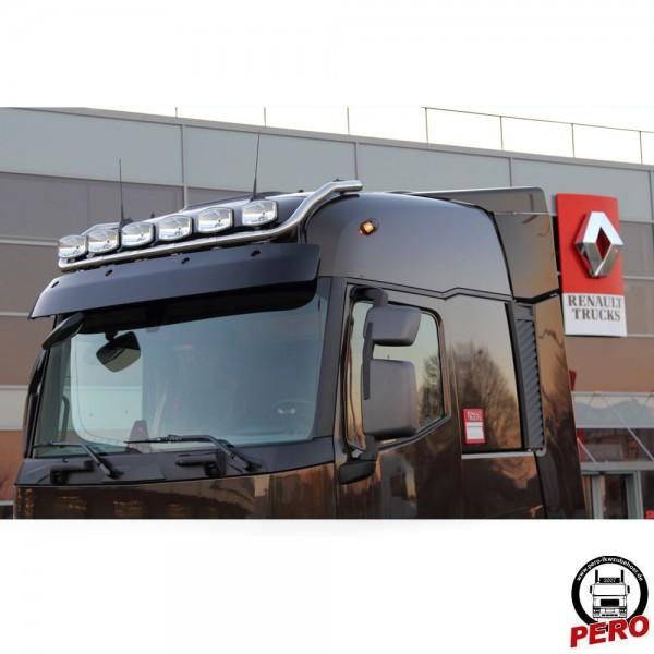HS-Schoch Scheinwerferbügel, Lampenbügel unten aus Edelstahl Typ Max passend für Renault T