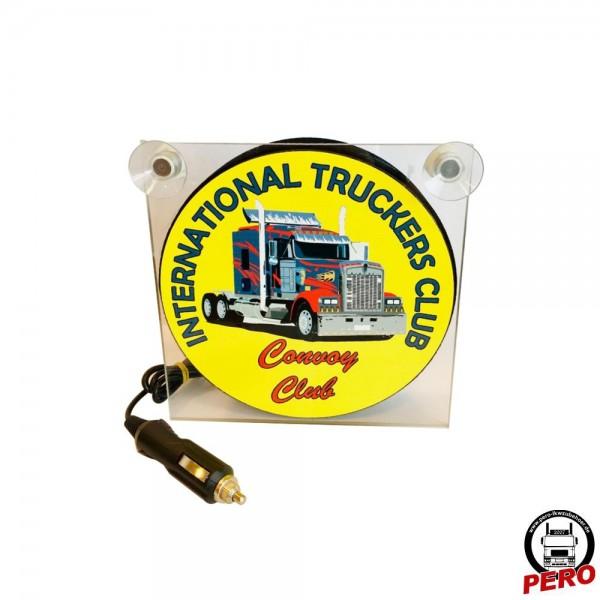 Leuchtbox für die Frontscheibe International Truckers Club