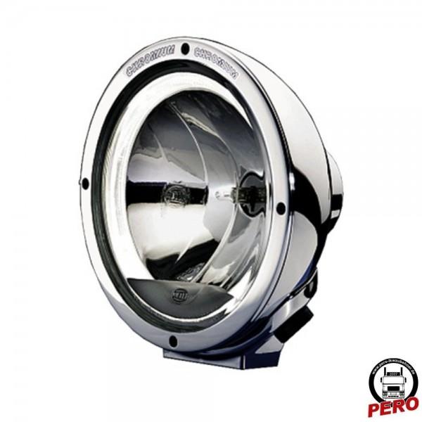 Hella Luminator Chromium CELIS® Fernscheinwerfer, Zusatzscheinwerfer mit LED-Standlicht