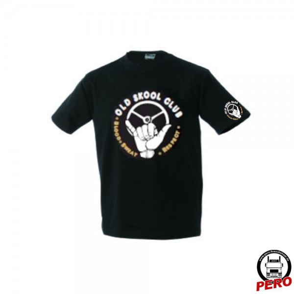 T-Shirt schwarz Old Skool Club