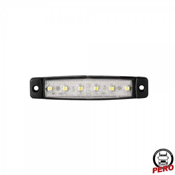 Dasteri LED Positionsleuchte, Begrenzungsleuchte weiß