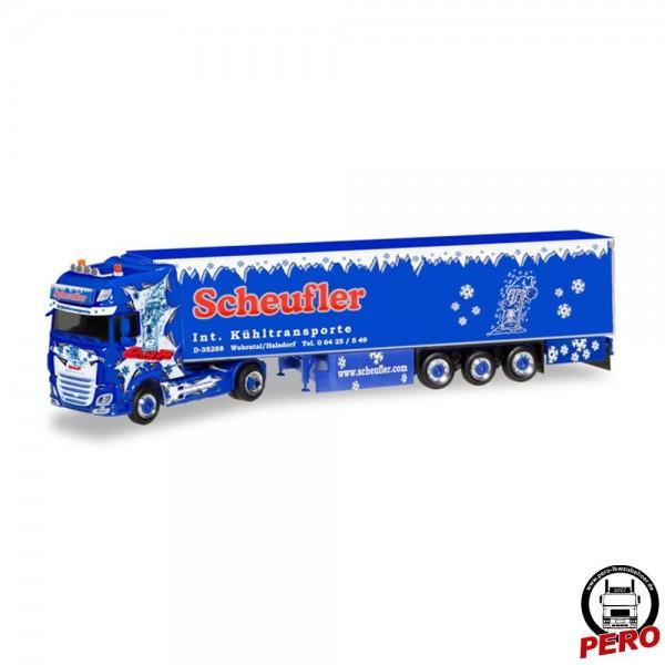 Herpa DAF XF106 SSC Kühlkoffer-Sattelzug Scheufler (D)