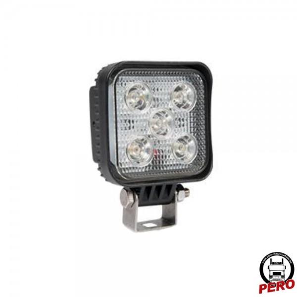 LED Arbeitsscheinwerfer mit 5 LED's klein, gut und preisgünstig