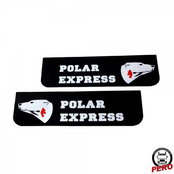 Schmutzfänger, Spritzlappen 60x18cm Polar Express schwarz