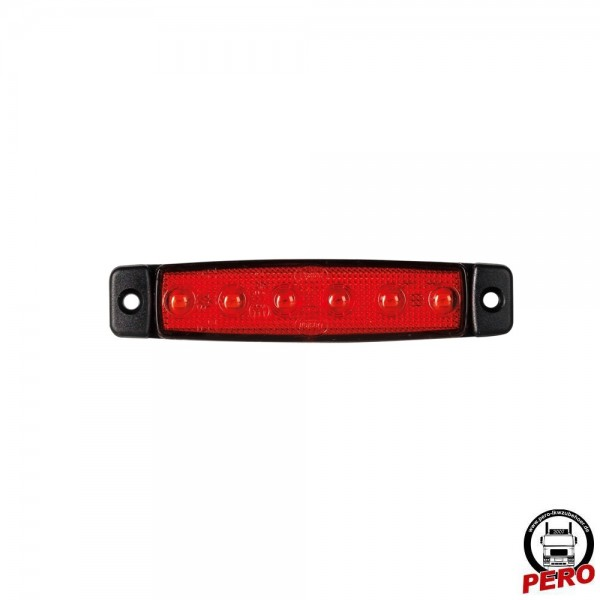 LED Positionsleuchte, Schluß/Begrenzungsleuchte rot