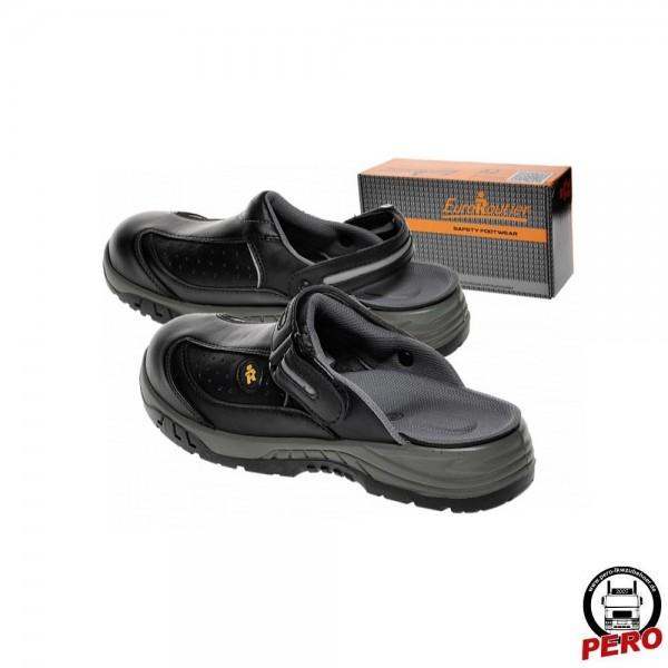 EuroRoutier Trucker Sandale Trendy schwarz