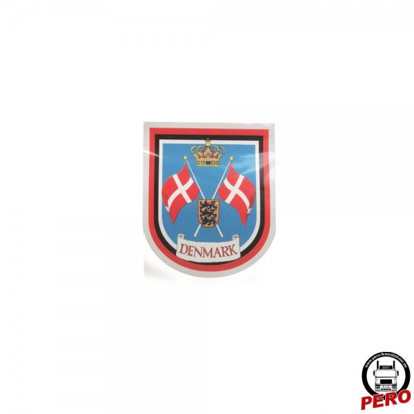 Aufkleber Wappen Denmark *Digitaldruck*