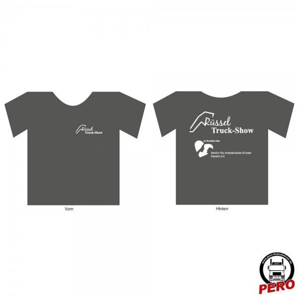 T-Shirt darkgrey Rüssel Truck-Show