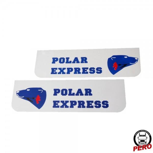 Schmutzfänger, Spritzlappen 60x18cm Polar Express weiß