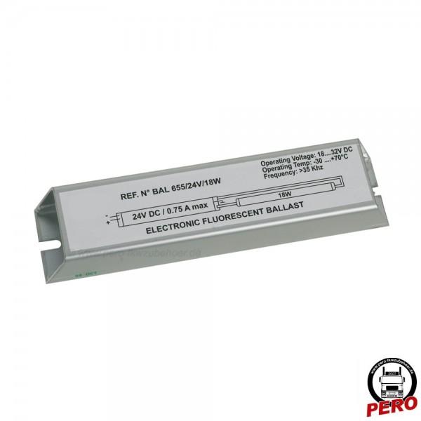 Transformator / Umformer für Leuchtkasten mit Leuchtstoffröhren bis 18W