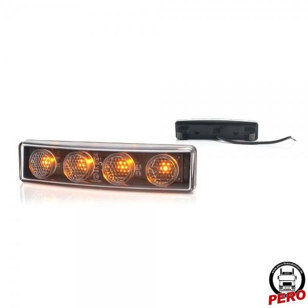 LED Positionsleuchte, Begrenzungsleuchte orange passend für Scania R Lampenausschnitte