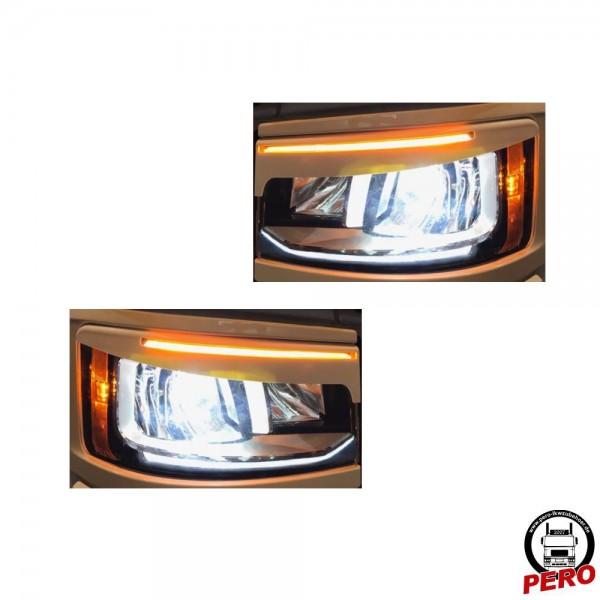 Scheinwerferblende, Böser Blick passend für Scania R & S mit LED-Scheinwerfer