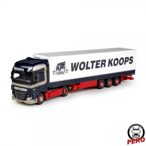 Herpa DAF XF106 SSC Kühlkoffer-Sattelzug Wolter Koops (NL)
