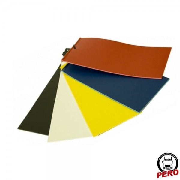 Schmutzfänger, Spritzlappen 240x35cm Typ Basic, neutral und einfarbig