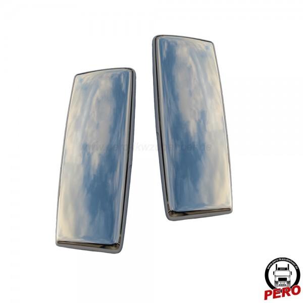 Spiegelkappen aus Edelstahl passend für MAN TGX und TGS