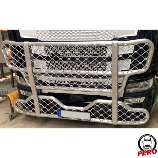 Bullfänger, Rammschutz Alu mit Gitter-Optik passend für Scania R & S