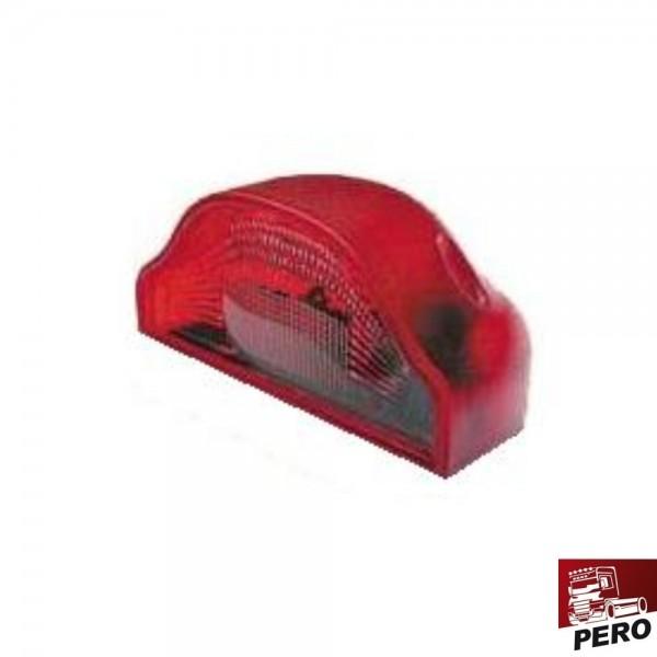 Ersatzlichtscheibe rot für Kennzeichenleuchte Regpoint