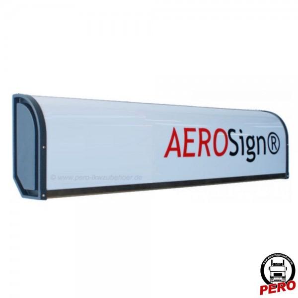 AEROSignLED® Leuchtkasten, Dachwerbeschild mit LED-Beleuchtung 24V