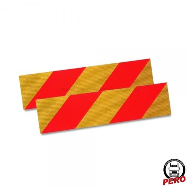 Kennzeichnungstafeln für Motorwagen/Szm 130x565mm Alu ECE 70.01