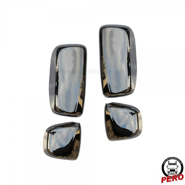 Spiegelkappen aus Edelstahl passend für DAF XF106