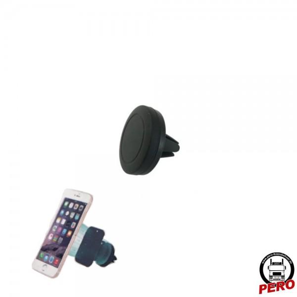 Magnethalterung für Handy / Mobiltelefon, mit Befestigung am Lüftungsgitter