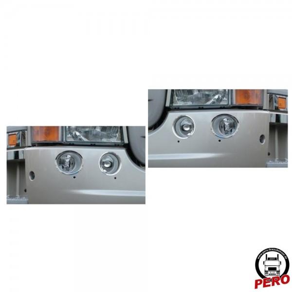 Fern- u. Nebelscheinwerfer Applikation aus Edelstahl passend für Scania R