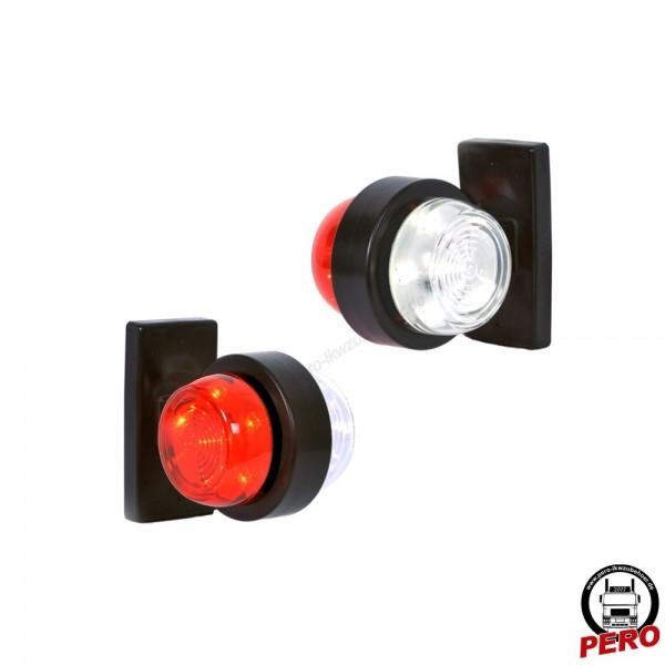 LED Umrissleuchte, Pendelleuchte kurz Scandi-Design
