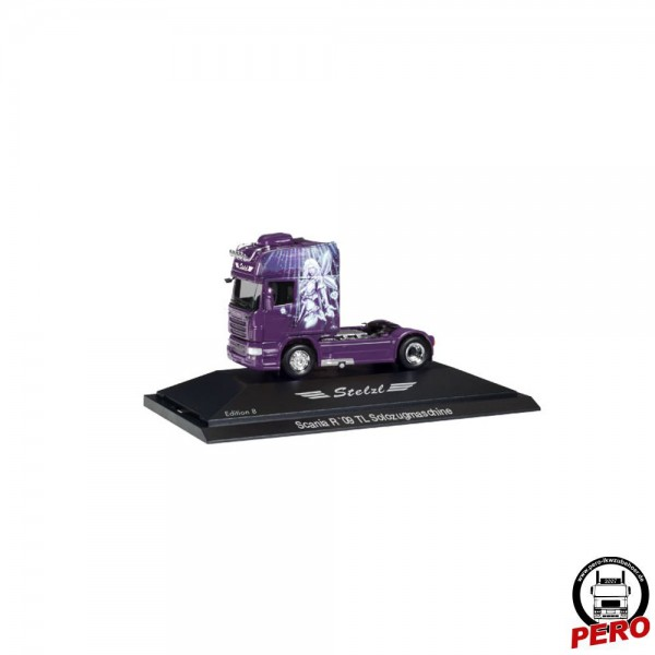 Herpa Scania R'09 TL Zugmaschine Stelzl -Edition 8- in PC (D)