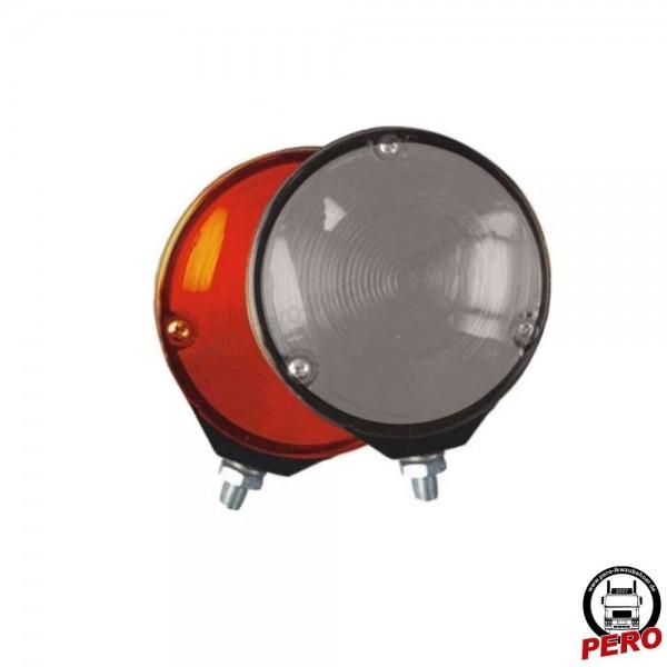 Blinkleuchte Spanish light weiß/rot (Spiegellampe)