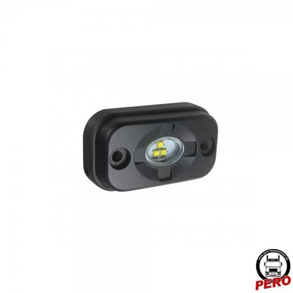 LED Arbeitsscheinwerfer MIDI mit 3 LED's, sehr klein und flach